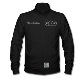 Heroic Fashion – Infinite Track Jacket – Mens Black