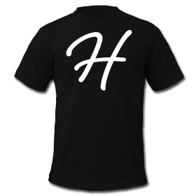 Heroic Fashion – Signature H – Mens T-Shirt