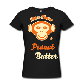 Retro Flavor – Peanut Butter – Women's T-Shirts